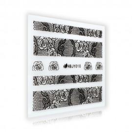Fekete Csipke matrica - HBJY010