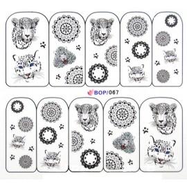 Nail Tattoo - BOP-067