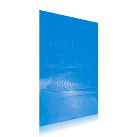 Pasztell francia matrica - 05 - Kék