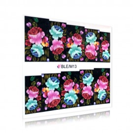 Virágmintás matrica - BLE/M13
