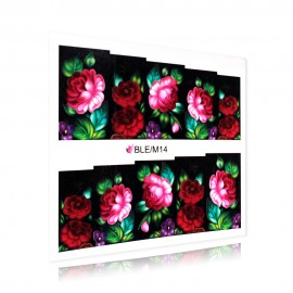 Virágmintás matrica - BLE/M14