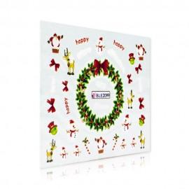 Karácsonyi Matrica - BLE2099