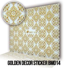 Arany Dekor Matrica BM014