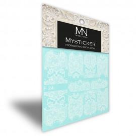 Mysticker - F24 white