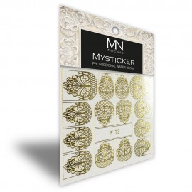 Mysticker - F33 gold