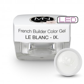 French Builder Color Gel - IX. - le Blanc -15g