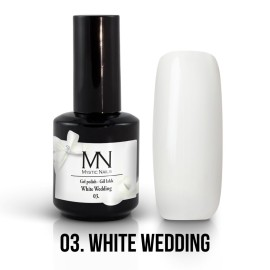 Gél Lakk 03 - White Wedding 12ml