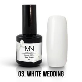 Gél Lakk 03 - White Wedding 12ml