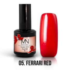 Gél Lakk 05 - Ferrari Red 12ml