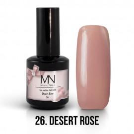 Gél Lakk 26 - Desert Rose 12ml