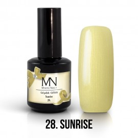 Gél Lakk 28 - Sunrise 12ml