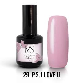 Gél Lakk 29 - PS I love U 12ml