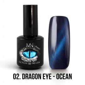 Gél Lakk Dragon Eye Effekt 02 - Ocean 12ml