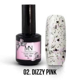 Gél Lakk Dizzy 02 - Dizzy Pink 12ml
