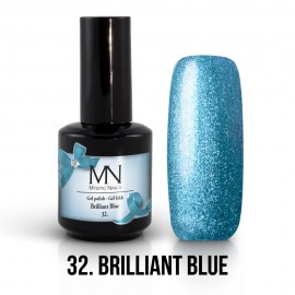 Gél Lakk 32 - Brilliant Blue 12ml