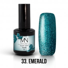 Gél Lakk 33 - Emerald 12ml