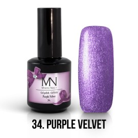Gél Lakk 34 - Purple Velvet 12ml
