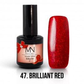 Gél Lakk 47 - Brilliant Red 12ml