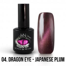 Gél Lakk Dragon Eye Effekt 04 - Japanese Plum 12ml