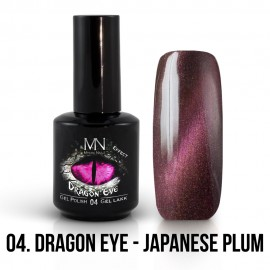 Gél Lakk Dragon Eye Effekt 04 - Japanese Plum 12ml