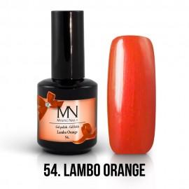 Gél Lakk 54 - Lambo Orange 12ml