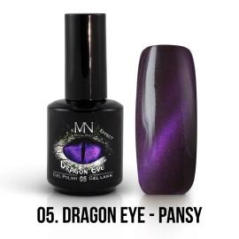 Gél Lakk Dragon Eye Effekt 05 - Pansy 12ml
