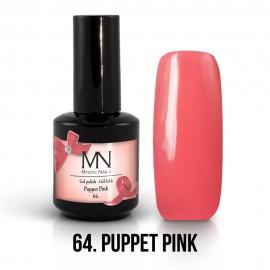 Gél Lakk 64 - Puppet Pink 12ml