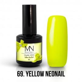 Gél Lakk 69 - Yellow NeoNail 12ml