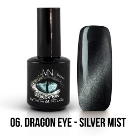 Gél Lakk Dragon Eye Effekt 06 - Silver Mist 12ml