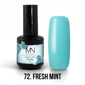 Gél Lakk 72 - Fresh Mint 12ml