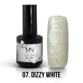 Gél Lakk Dizzy 07 - Dizzy White 12ml