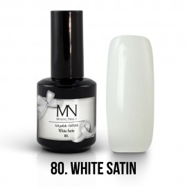 Gél Lakk 80 - White Satin 12ml