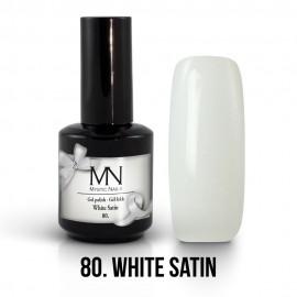 Gél Lakk 80 - White Satin 12ml