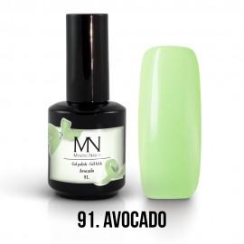 Gél Lakk 91 - Avocado 12ml