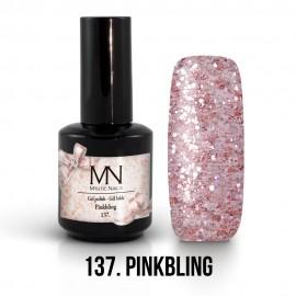 Gél lakk 137 - Pinkbling 12ml