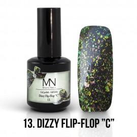 Gél Lakk Dizzy 13 - Dizzy Flip-Flop C 12ml