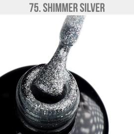 Gél Lakk 75 - Shimmer Silver 12ml
