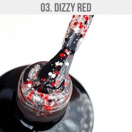 Gél Lakk Dizzy 03 - Dizzy Red 12ml
