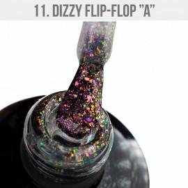 Gél Lakk Dizzy 11 - Dizzy Flip-Flop A 12ml