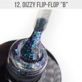 Gél Lakk Dizzy 12 - Dizzy Flip-Flop B 12ml