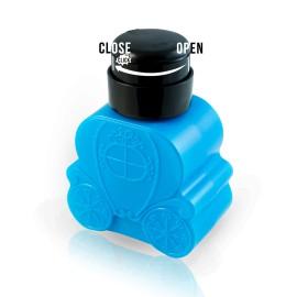 Pumpás tégely - kék