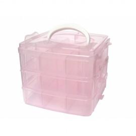 Rózsaszín tároló doboz