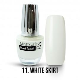 MyStyle Körömlakk - 011. - White Skirt - 15ml