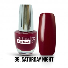 MyStyle Körömlakk - 039. - Saturday Night - 15ml