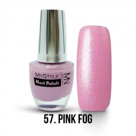 MyStyle Körömlakk - 057. - Pink Fog - 15ml