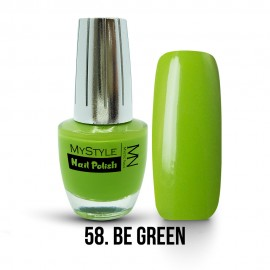 MyStyle Körömlakk - 058. - Be Green - 15ml