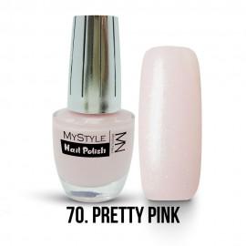 MyStyle Körömlakk - 070. - Pretty Pink - 15ml