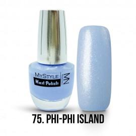 MyStyle Körömlakk - 075. - Phi - Phi Island - 15ml