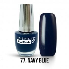 MyStyle Körömlakk - 077. - Navy Blue - 15ml