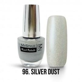MyStyle Körömlakk - 096. - Silver Dust - Ezüst Effekt - 15ml